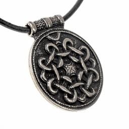 Terslev amulet Haithabu, silvered