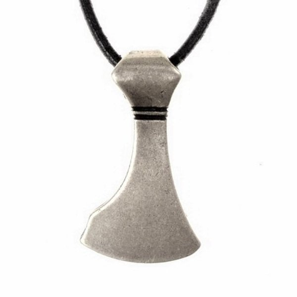Viking skæg juvel, forsølvede