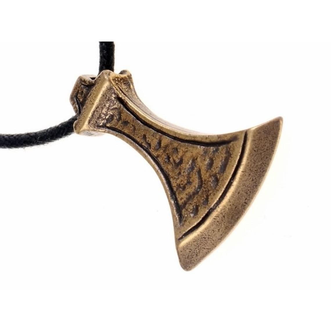 Viking joya hacha, latón
