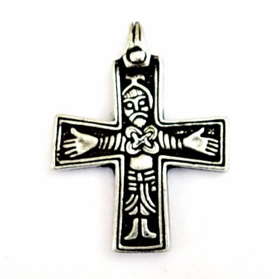 Viking croix Sanda, laiton