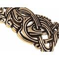 Vikingo joya Midgard serpiente, latón
