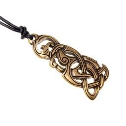 Jewel Viking snake, brass