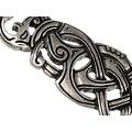 serpiente joya de Viking, plateado