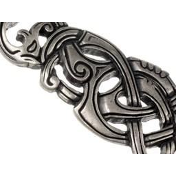 Sieraad Vikingslang, verzilverd