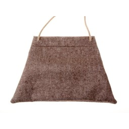 Medieval pilgrim bag felt