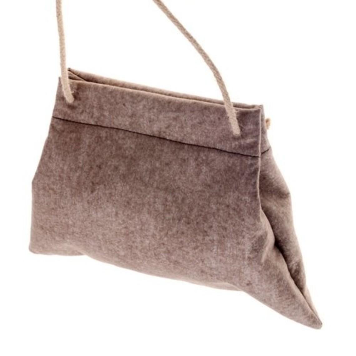 Medievale feltro borsa del pellegrino