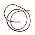 marrón de cuero correa de 3,5 mm x 1 m