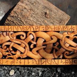 Urnes stylu rzeźba drewniane