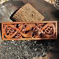 Decorazione celtica per muro libro di Kells