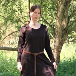 Mittelalterliches Kleid Emma, dunkelbraun