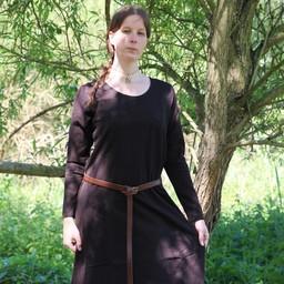 Średniowieczny strój Emma, ciemnobrązowy