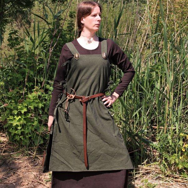 Medieval dress Emma, dark brown