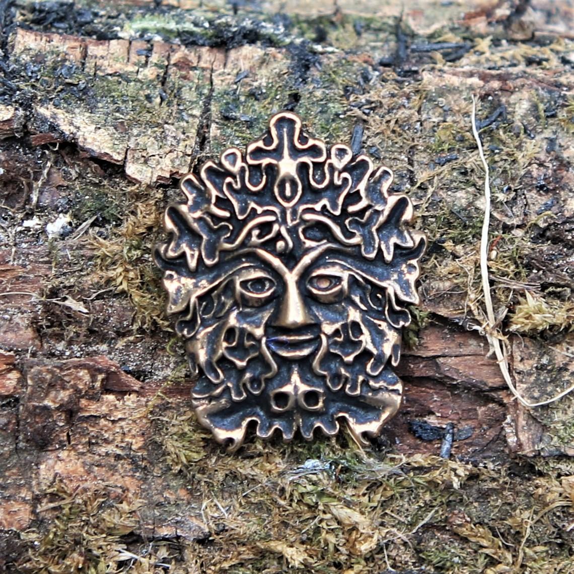The Green Man Amulett