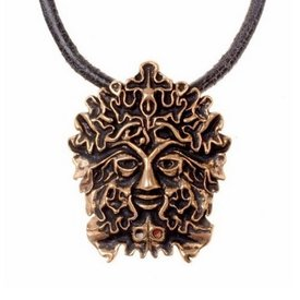 The Green Man Amulett