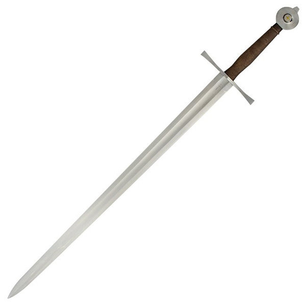 Red dragon Temple Church miecz, hartowane