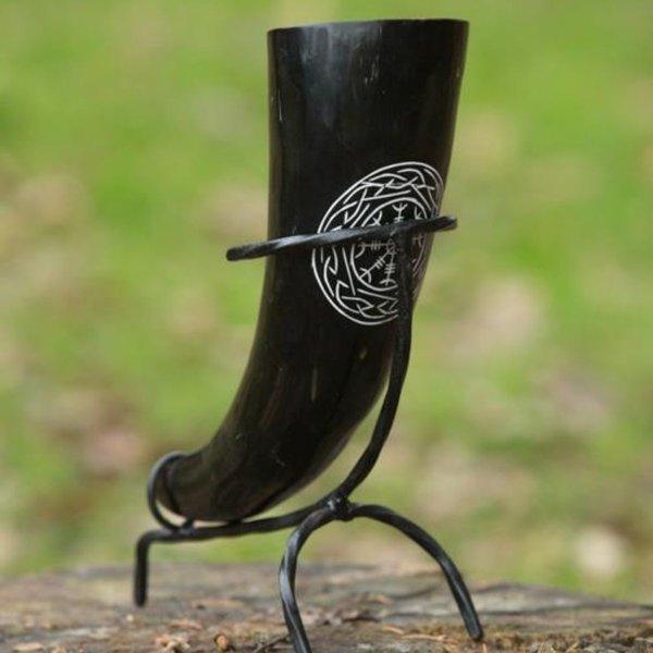 Epic Armoury Viking dricka horn Aegisjalmur, mörk