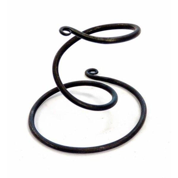 Drinking horn stativ spiral