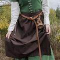 Förkläde Alianor, brun