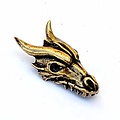 Dragon jewel brass