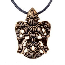 Celtic bracelet with knot motif, silvered