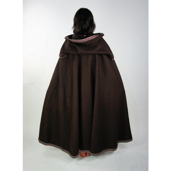 Leonardo Carbone Broderet kappe Lyra, brun