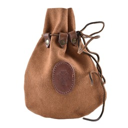 bolsa de cuero celta