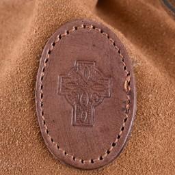 Celtic leather pouch