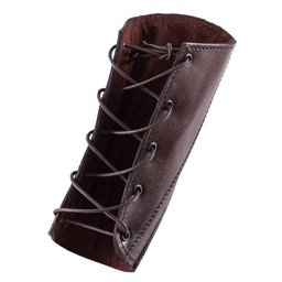 Läder vambraces Sihtric