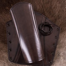 Leather vambraces Sihtric