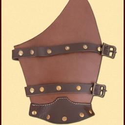 Leather vambraces Cnut