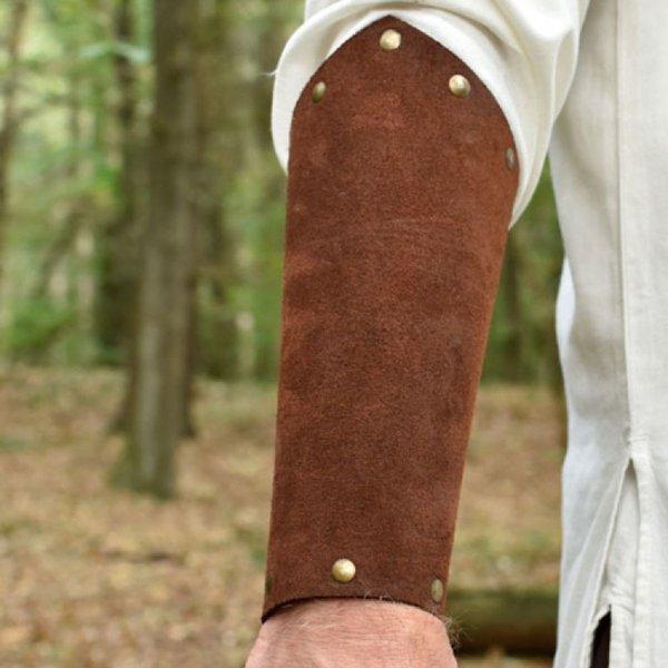 Deepeeka Gamuza Protegebrazos Leofrico, marrón