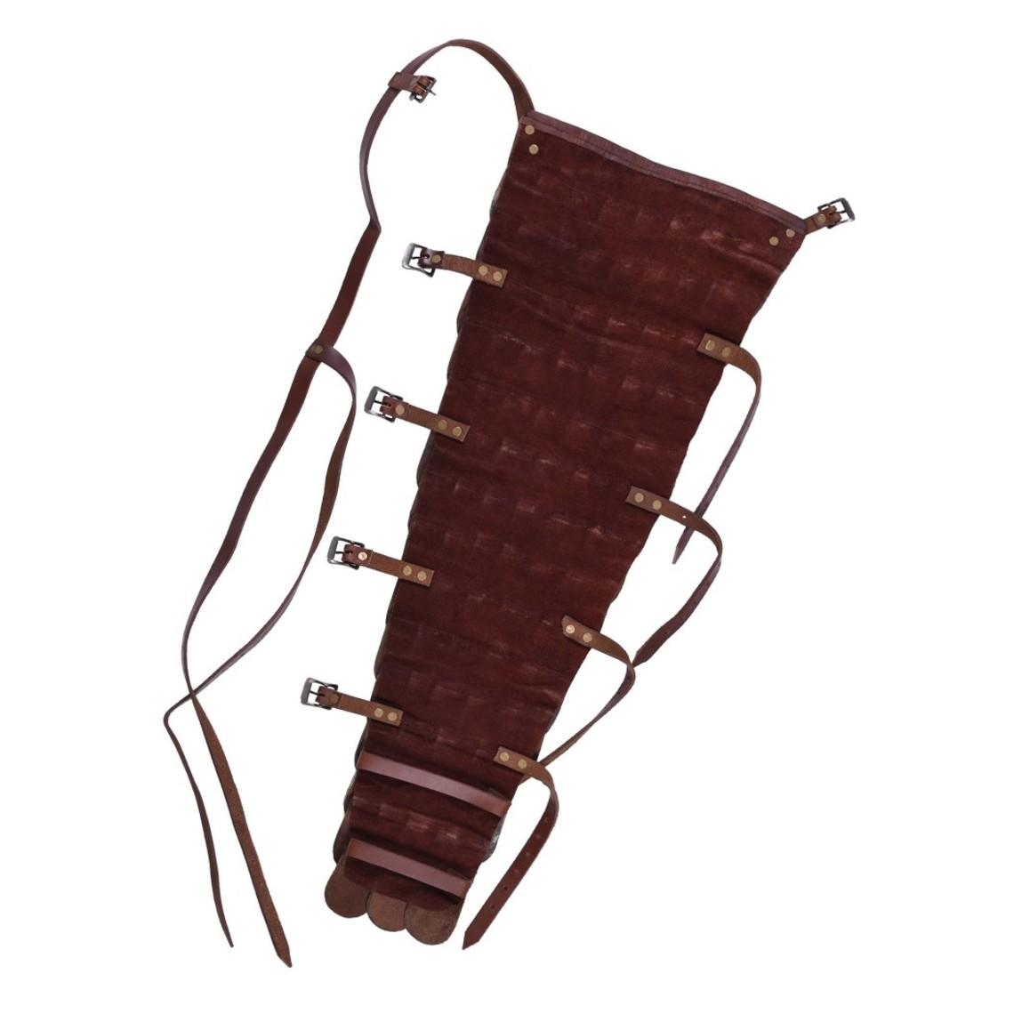Deepeeka Pelle scalato manica / armguard gladiatore