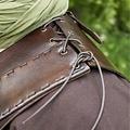 Deepeeka Skóra tułowia zbroi z krzyżem, brązowy