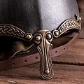 Deepeeka Viking neushelm met slangen, gepatineerd