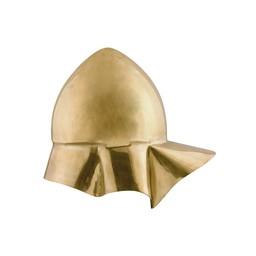 Greek Boeotian helmet, brass