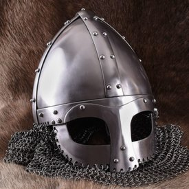 Ulfberth Viking spectacle helmet with chainmail 1,6 mm