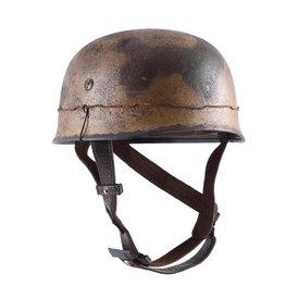 Deepeeka Tyska fallskärmsjägare hjälm M38 kamouflage