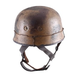 German paratrooper helmet M38 camouflage