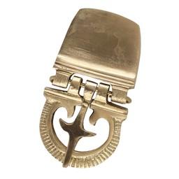 cinturón de hebilla de legionario romano del siglo primero