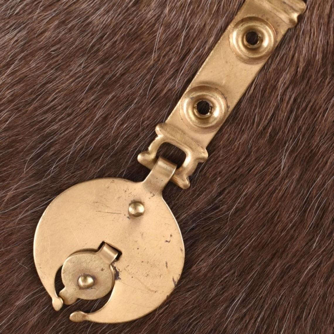 Deepeeka el extremo del cinturón adornado por correas romanas