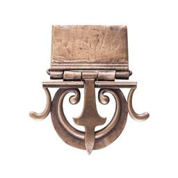 cinturón de hebilla romana Mainz acabado antiguo