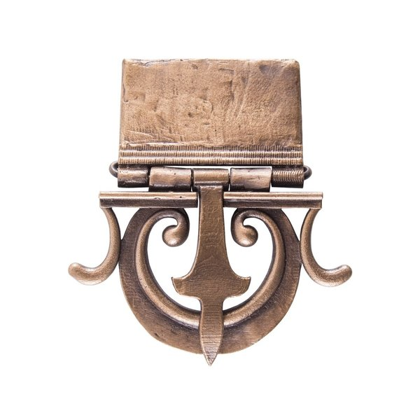 Deepeeka cinturón de hebilla romana Mainz acabado antiguo