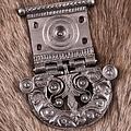 Deepeeka ceinture romaine boucle Tekija, laiton étamé