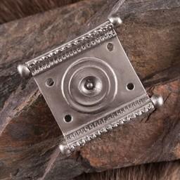cinturón de ajuste romana Tekija, latón estañado