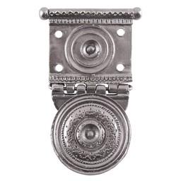 cinturón romano ajuste Tekija para pugio, latón estañado, par