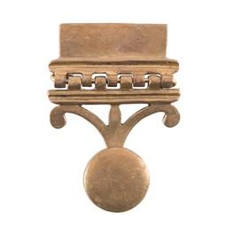 Romeins riembeslag Vindonissa, voor pugio, paar