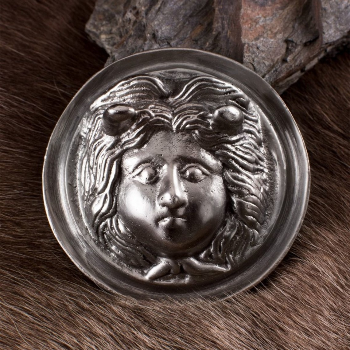 Deepeeka Grote Romeinse phalera Medusa