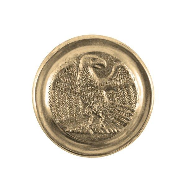 Deepeeka Romersk phalera ørn guld farve