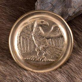 Deepeeka Romeinse phalera adelaar goudkleurig