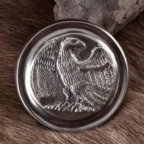 Deepeeka Phalère romaine couleur argent aigle